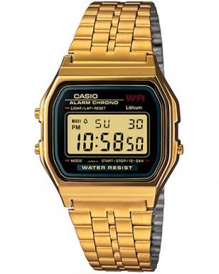 Casio A159WGEA-1VT in gold