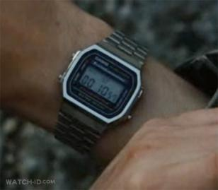 Casio A168W-1 worn by James McAvoy in the movie Wanted