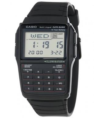 Casio DBC-32-1AES databank, illuminator, calculator
