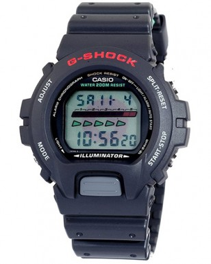 Casio G-Shock DW-6600C (notice the red G in the screen, which can also be seen in the movie watch)