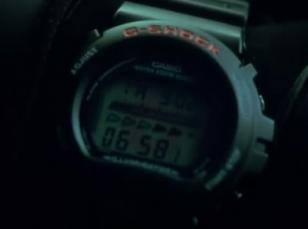 The Casio G-Shock DW6600C in The Italian Job
