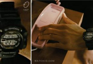 Casio G-Shock G9000-1V mudman on the left wrist of Bow Wow in the film Lottery T