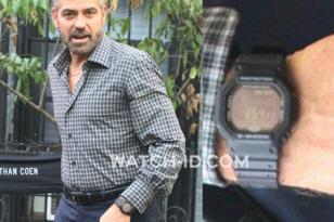 George Clooney wears a Casio G-Shock GW-5600BJ in Burn After Reading