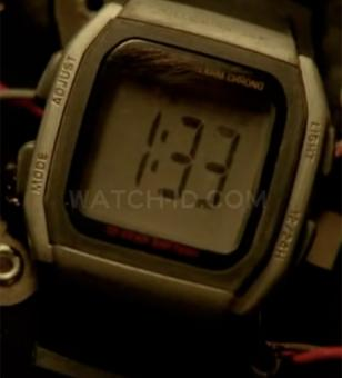 The Casio W96H-1AV used in Lost has been modified to make it unrecognizable.