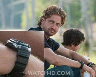 Gerard Butler wears a Casio WV200A-1AV watch in the 2012 film Playing For Keeps.