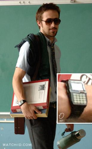 Ryan Gosling wears a Casio DBC150B-1DF watch in Half Nelson