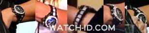 The watch on the wrist of Kim Zolciak