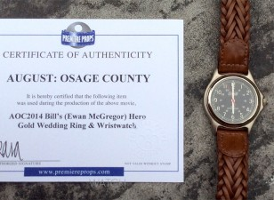 The screen-used Coleman watch from August: Osage County