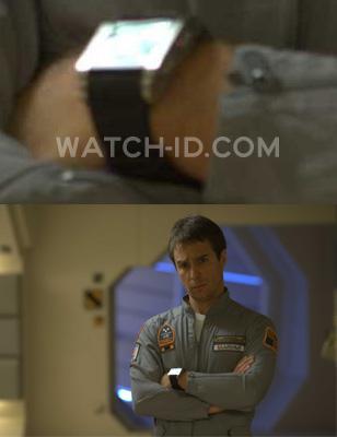 Sam Rockwell wears a Diesel DZ7076 wristwatch in the movie Moon.