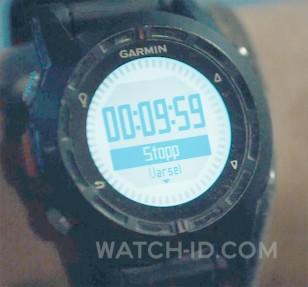 The Garmin D2 watch worn by Kristoffer Joner in the film The Wave