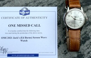 The screen-used Hamilton watch from One Missed Call