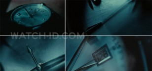 The watch and some of the details of the watch can be seen in extreme close-up shots when Bryan Mills is taken in the back of a car