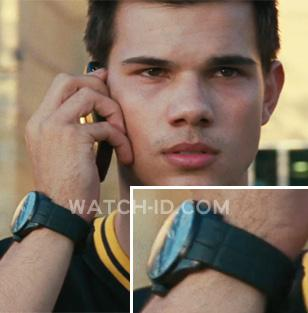 In the movie Abduction, Taylor Lautner, who plays the main character, wears a Ha