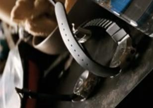 Both watches laying next to eachother in teh movie I Am Legend