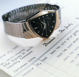 An original vintage Ventura watch