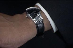 Hamilton Ventura on the wrist of Will Smith in the movie Men in Black