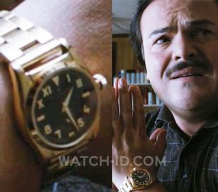 Golden watch worn by Jack Black in Bernie