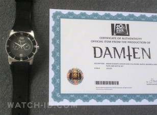 The original watch as worn by Omid Abtahi in the tv series Damien