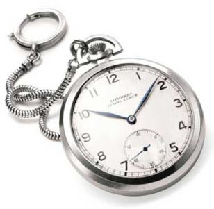 The Longines pocket watch, once owned by Albert Einstein