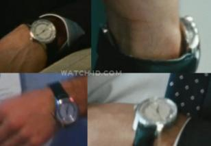 George Clooney's watch in the movie Up in the Air: an Omega DeVille