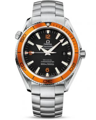 Omega Seamaster Planet Ocean 2209.50.00, steel on steel