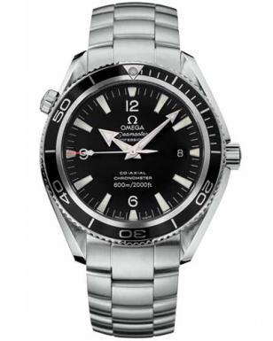 Omega Seamaster Planet Ocean 2201.50.00 with a steel bracelet