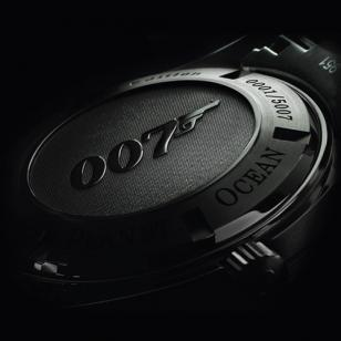 "A big embossed 007 logo on the back, the engraved serial number and the text ""Li"