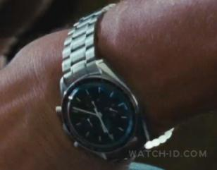 Gerard Butler wearing an Omega Speedmaster Professional in the movie The Bounty