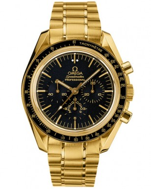 Omega Speedmaster Chronograph Professional Moon Watch 25th Anniversary Apollo-Soyuz special edition, reference 3195.59.00.