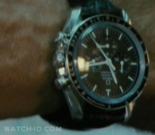 An Omega Speedmaster Professional on George Clooney's wrist in the movie The Ame