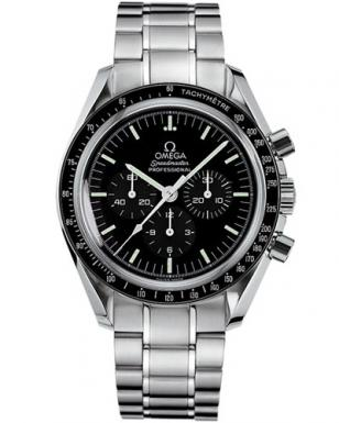 The latest version of the Omega Speedmaster, now called Speedmaster Professional