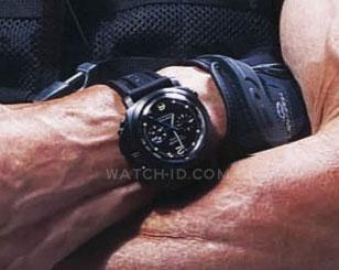 Sylvester Stallone wears the watch on a promotional photo for The Expendables