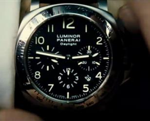 Panerai Luminor Chrono Daylight worn by Jason Statham in Transporter 2