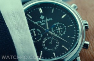 A fake Patek Philippe in the movie Non-Stop
