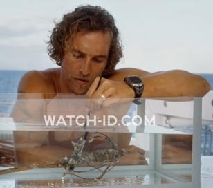 Matthew McConaughey wears a Rip Curl Ultimate Oceansearch watch in the movie Foo