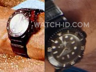 The watch worn by Dwayne Johnson in Baywatch