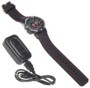 Spy Watch with Hidden Camera and Microphone Video Recorder, and the USB connecto