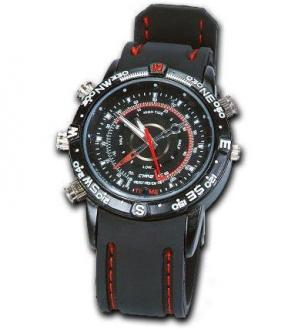 Spy Watch with Hidden Camera and Microphone Video Recorder USB 4gb