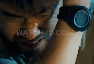 The Suunto X10 Military watch in the movie The Viral Factor.