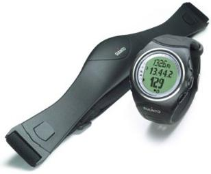 This Suunto comes with a heart rate monitor transmitter belt