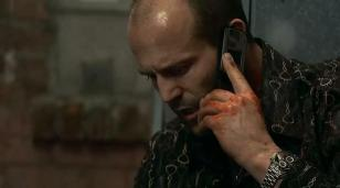 Jason Statham wearing the TAG Heuer Carrera in the movie Crank