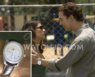 Matthew McConaughey wears a TAG Heuer Grand Carrera in the movie The Lincoln Law