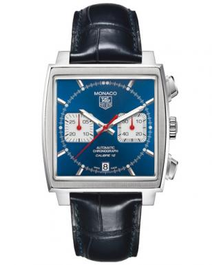 The current model: TAG Heuer Monaco Calibre 12 Automatic Chronograph CAW2111.FC6
