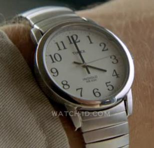 Timex Easy Reader on the wrist of Michael Emerson (as Benjamin in the tv series