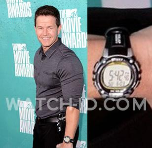 Wahlberg sporting his Timex Ironman during the 2012 MTV Movie Awards