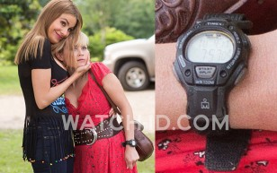 Reese Witherspoon wears a Timex Ironman watch in Hot Pursuit