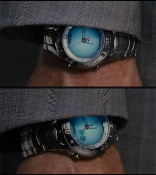 Will Ferrell wearing a Timex Ironman Dual Tech in Stranger Than Fiction
