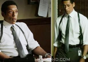 Orlando Jones wears the Tissot PRS 516 watch in Sleepy Hollow, season 1, episode 10 (The Golem)
