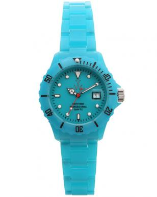 ToyWatch Fluo Plasteramic Blue Fld15Lb