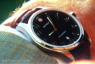 Wenger TerraGraph Automatic on the wrist of Rex Linn Sgt Frank Tripp CSI Miami